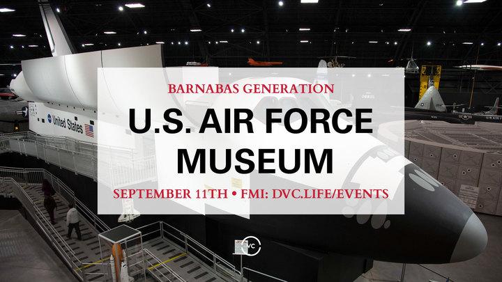 Barnabas Generation USAF/IMAX Theatre logo image