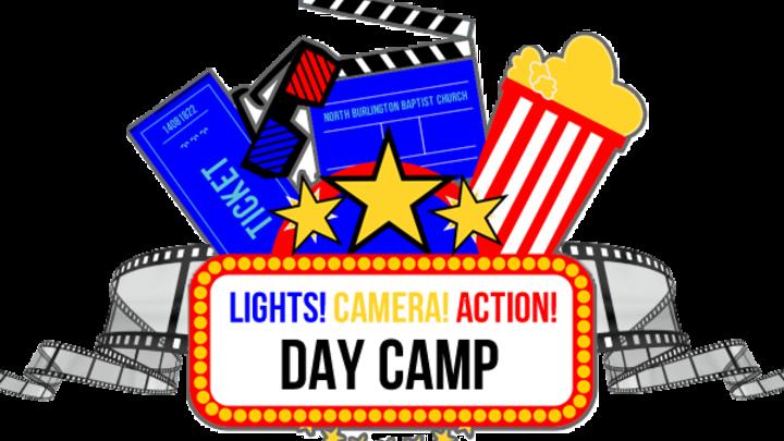 Lights, Camera, Action! Camp 2019 logo image