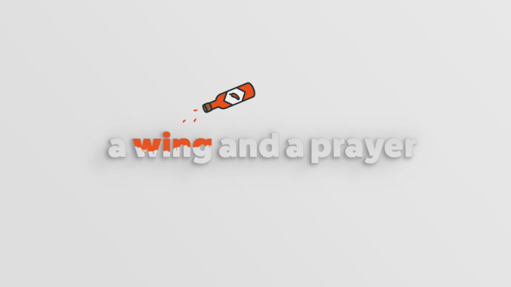 a wing and a prayer (Men's Event) logo image