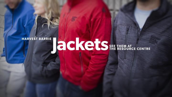 Harvest Bible Chapel Barrie - Jacket Order Form logo image