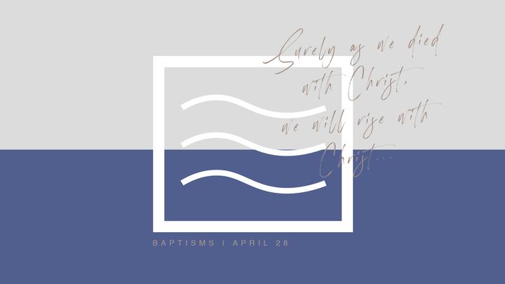 Water Baptism 2019  logo image