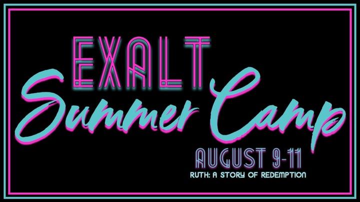 EXALT Youth Summer Camp logo image