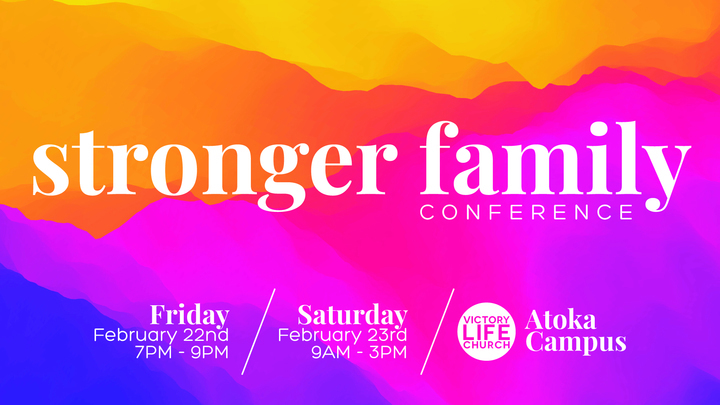 Stronger Family Conference 2019 Kids Check-In logo image