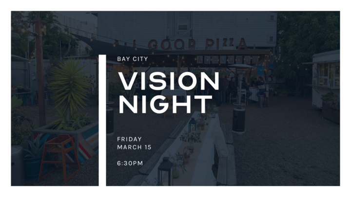 Vision Night at All Good Pizza logo image