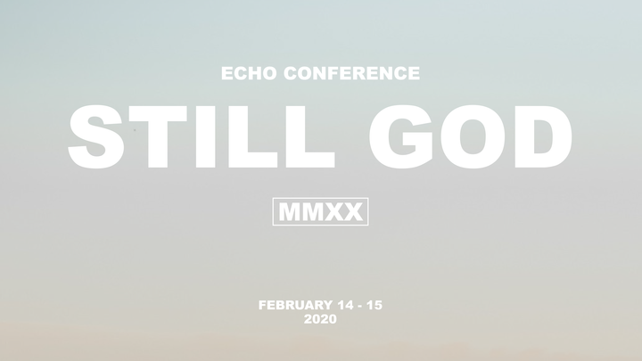 Echo Conference - 2020 logo image