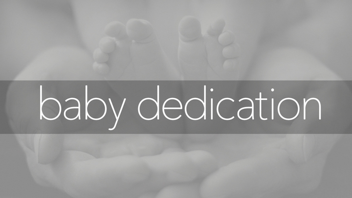 Fall Baby Dedication logo image