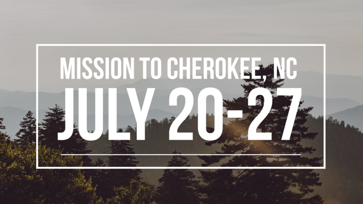 Youth Cherokee Mission Trip logo image