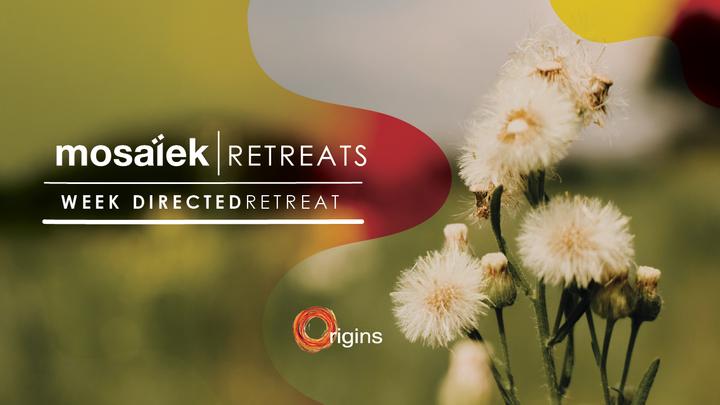 Mosaiek week directed retreat logo image