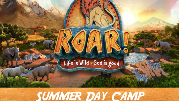 Roar Summer Day Camp 2019 logo image