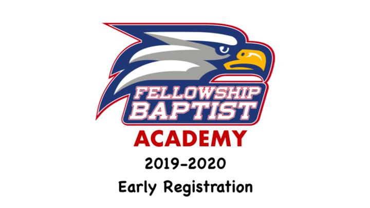 Fellowship Baptist Academy - 2019-2020 Registration logo image
