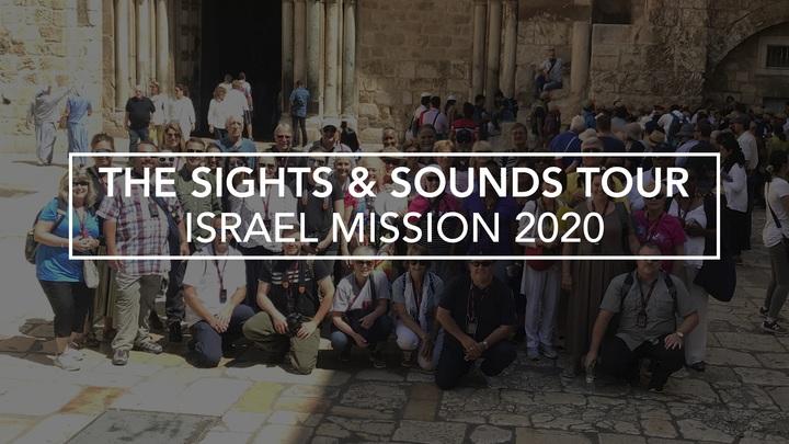 2020 Israel Mission Trip logo image
