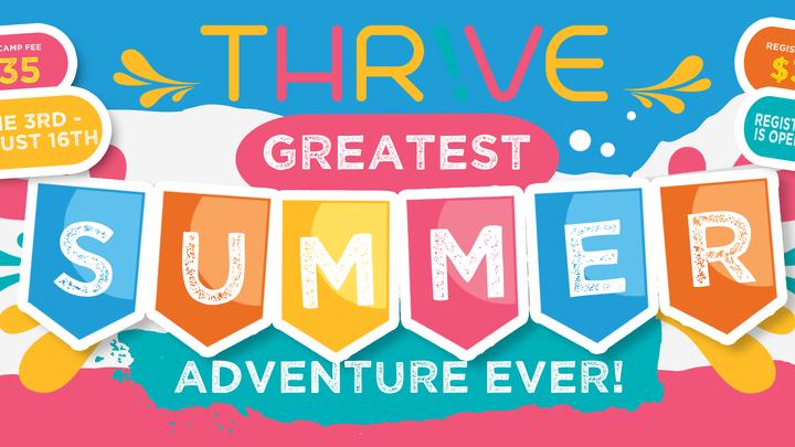 Summer Camp Registration 2019 logo image