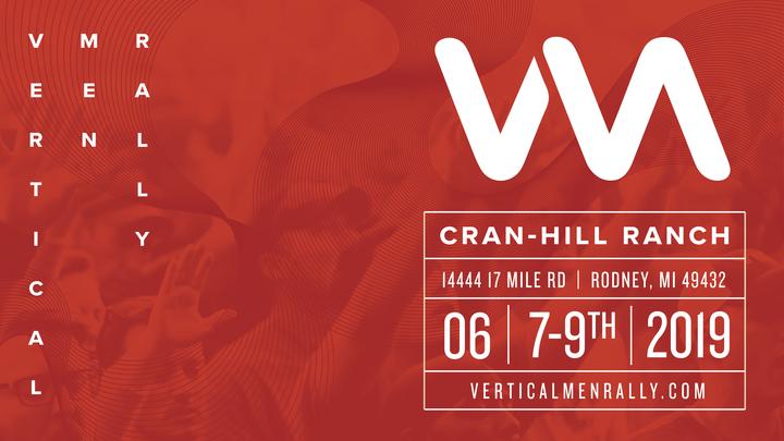Vertical Men Rally logo image
