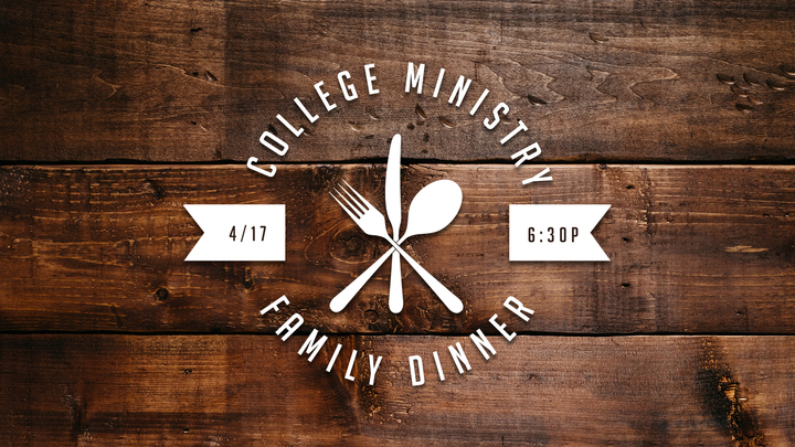 Family Dinner  (College) logo image
