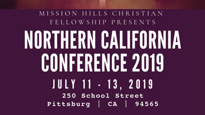 Northern California Conference 2019 - July 11th to July 13th logo image