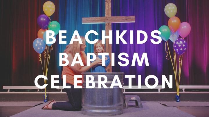 BeachKids Baptism logo image