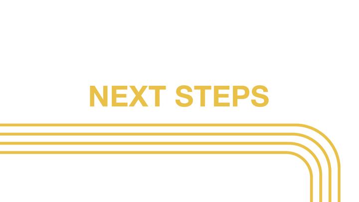 NEXT Steps | October logo image