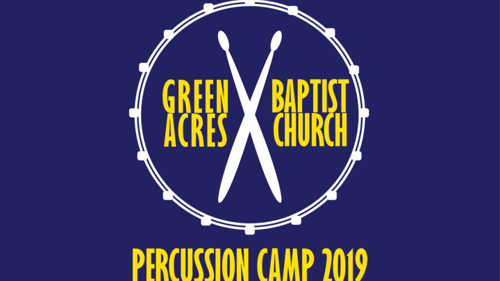 Medium percussion camp shirt