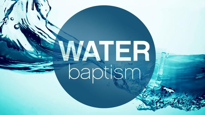 September 2019 Water Baptism logo image