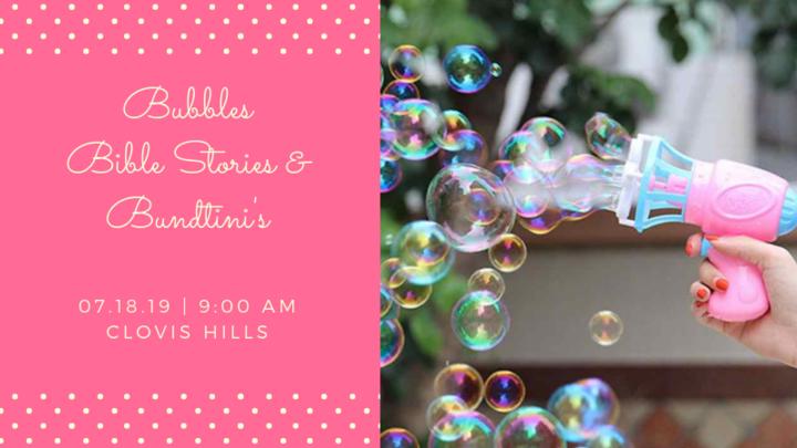 Bubbles, Bible Stories & Bundtinis logo image