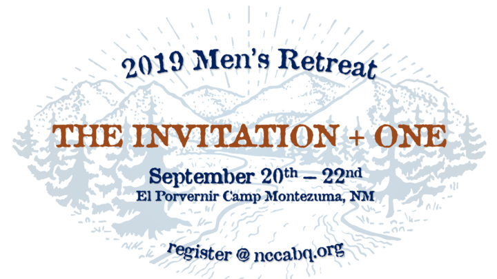 2019 Men's Retreat: The Invitation, Plus One logo image