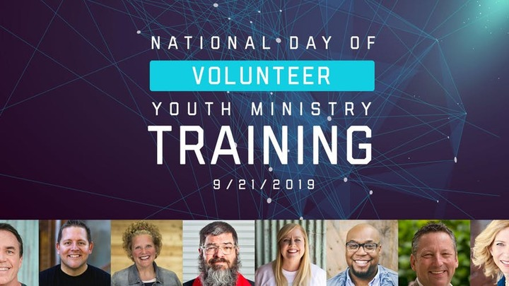 National Day of Youth Worker Training logo image
