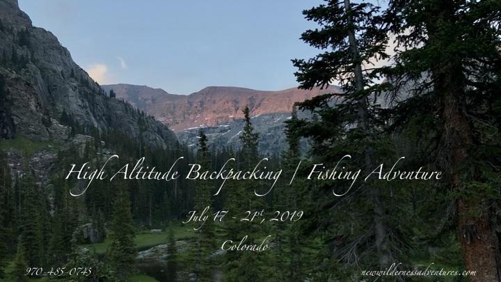 2019 NWA High Altitude Backpacking / Fishing Adventure logo image