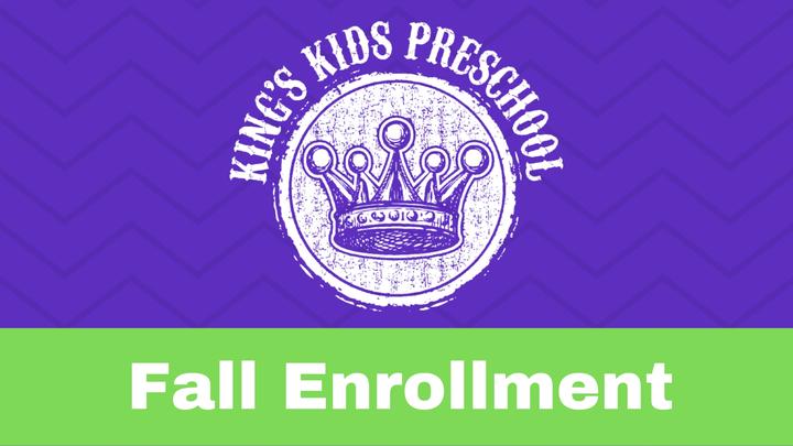 King's Kids Enrollment 2019-20 logo image