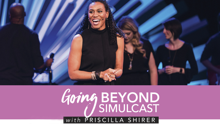Going Beyond with Priscilla Shirer logo image