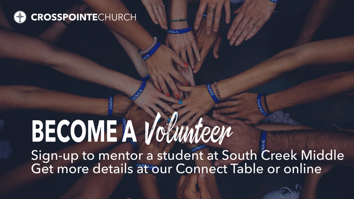 Become a Volunteer at South Creek Middle School logo image