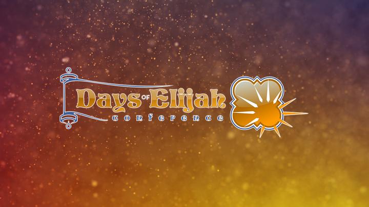 Days of Elijah Conference logo image
