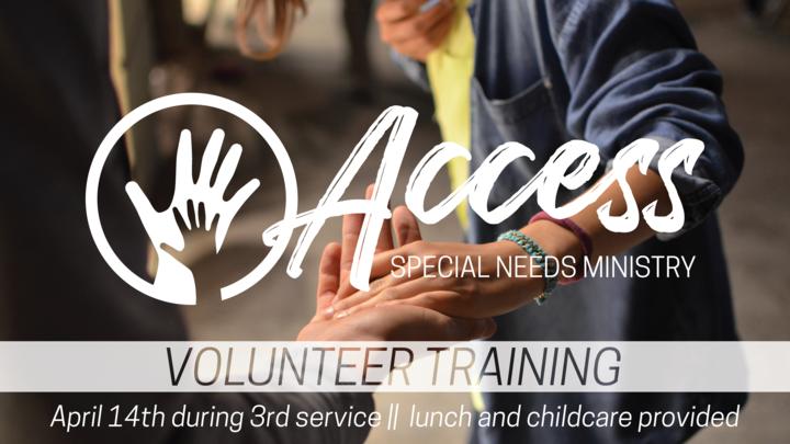 Medium access volunteer slide