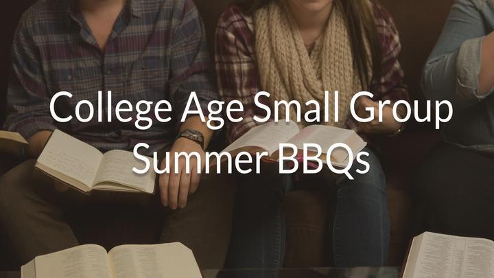 Medium college small group summer bbqs