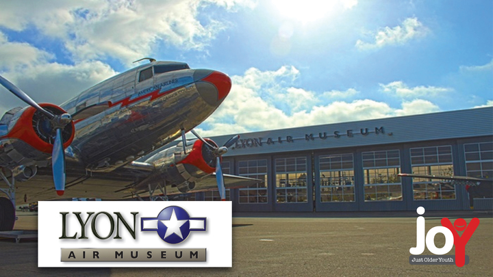 Lyon Air Museum (Tickets purchased at the museum.) logo image