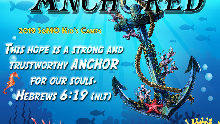 Kids Camp - Anchored 2019 logo image
