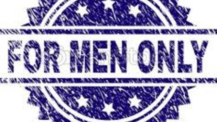 FOR MEN ONLY Support Group // Saturdays  logo image