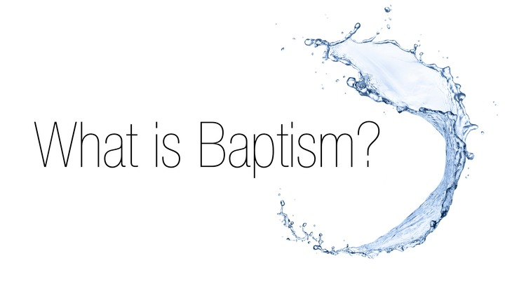 What is Baptism? logo image