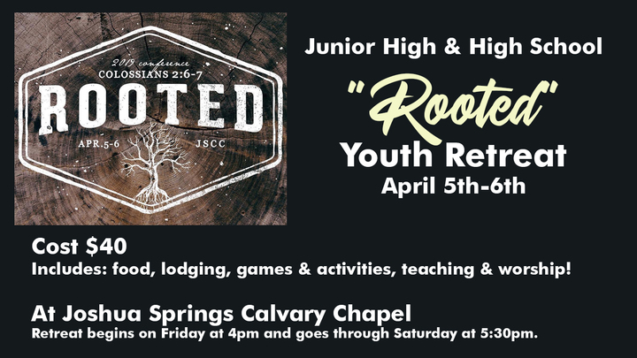 Medium rooted   youth retreat