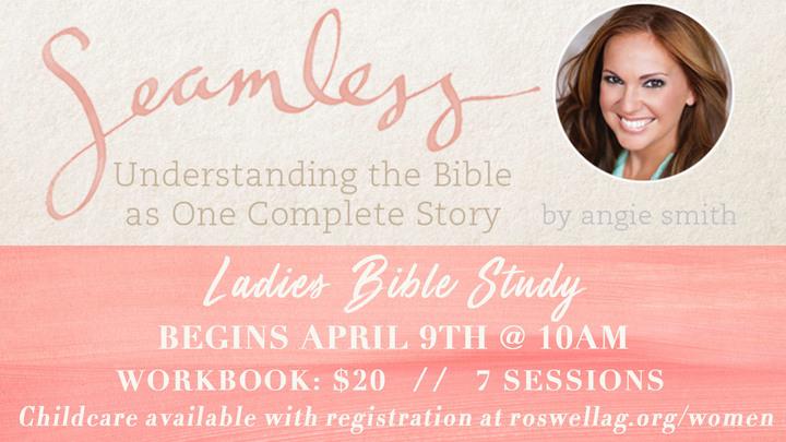 Ladies Bible Study, Spring logo image