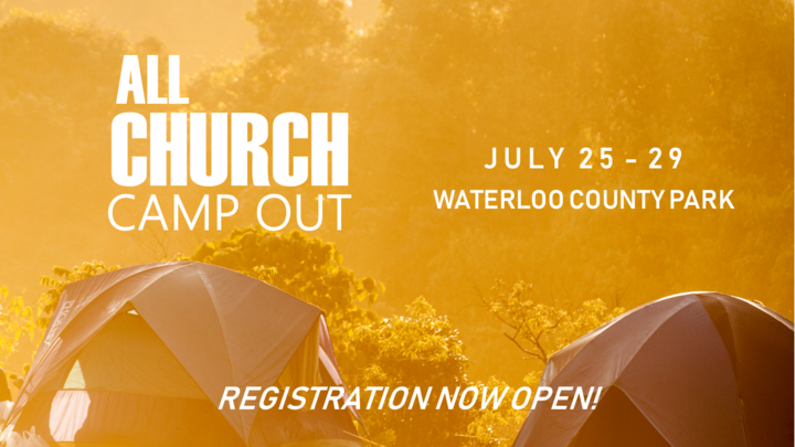 All Church Camp Out 2019 logo image