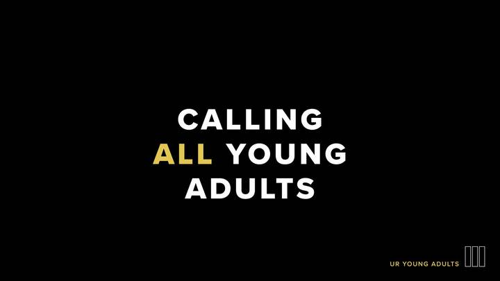 Medium ur calling all young adults app wide
