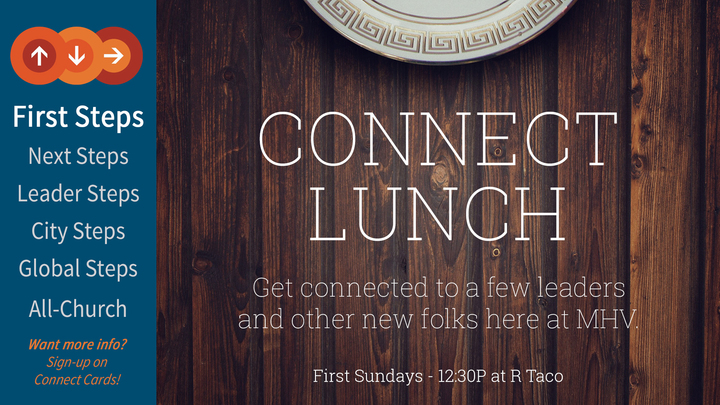 Westminster Vineyard Connect Lunch logo image