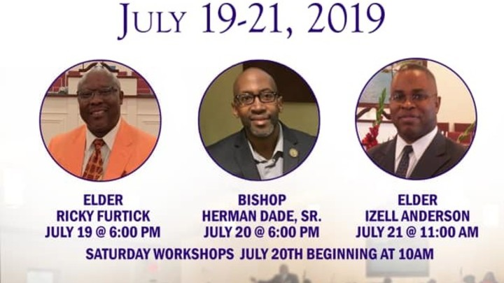 The Bible Church Holiness Conference 2019 Summer Session  logo image