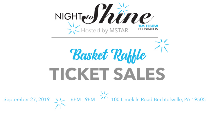 TICKET SALES - Night to Shine Basket Raffle logo image