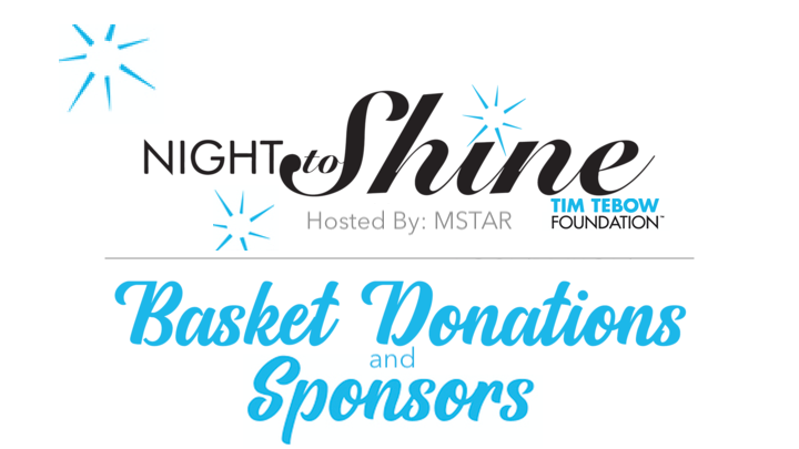 BASKET DONATIONS/SPONSORS - Night to Shine logo image