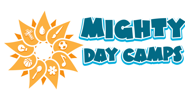 Mighty Day Camps 2019 logo image