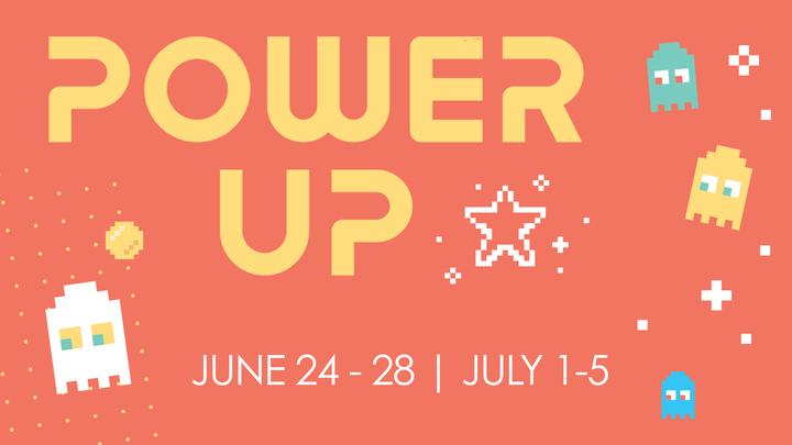 Power Up Kids Day Camp logo image