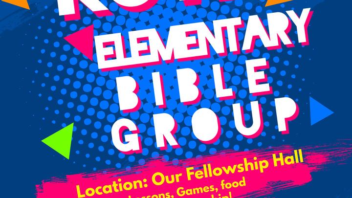 Elementary Bible Group 2019 logo image