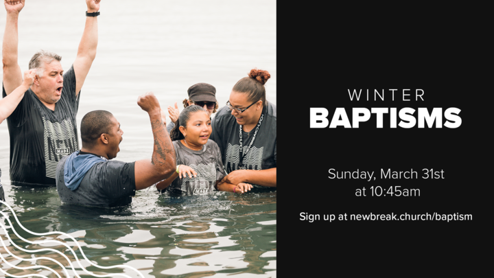 Medium winter baptisms