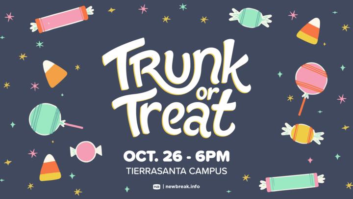 Trunk-or-Treat | Newbreak Tierrasanta logo image